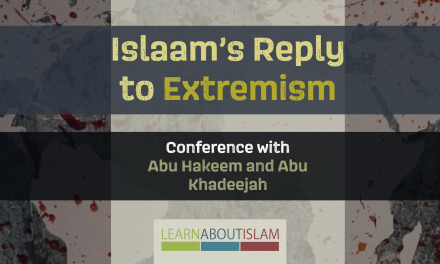 Islaam's Reply to Extremism – Conference | Stoke on Trent