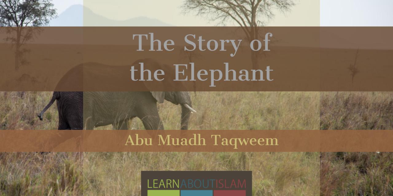 The Story of the Elephant [Tafsir of Surah Al-Fil] | Abu Muadh Taqweem Aslam