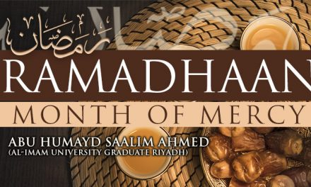 RAMADHAAN – MONTH OF MERCY LESSON 04 | ABU HUMAYD SAALIM | MANCHESTER
