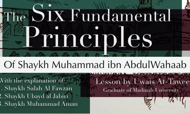 2 – Six Fundamental Principles – Uwais at-Taweel | Nigeria
