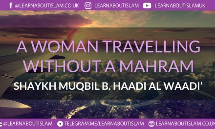 Women Travelling in a Group- Does this Replace the Need for Mahram – Shaykh Muqbil